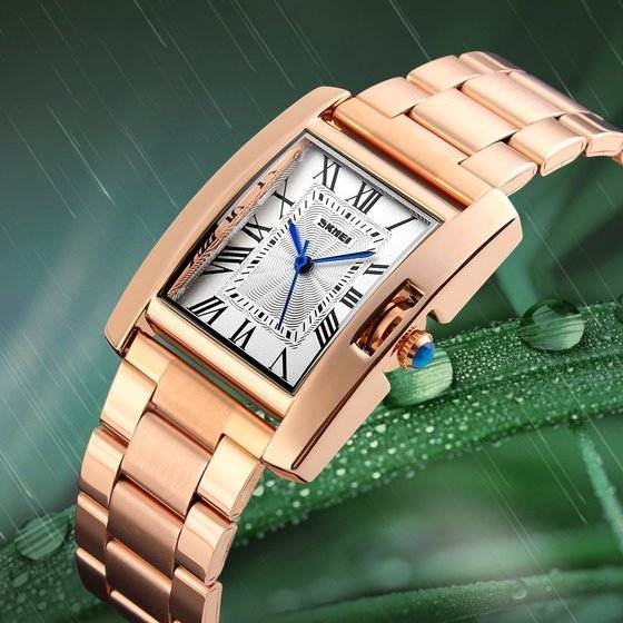 Zegarek damski SKMEI 1284 Stainless Steel rose gold